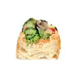 38495266 - 野菜のタルティーヌの断面 '15 4月中旬