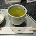 銀座 天一 - 2015/6 お茶