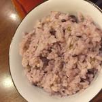 しゃぶ玄 - ヘルシーランチの五穀米