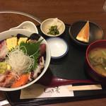 しゃぶ玄 - 海鮮丼ランチ 920円