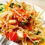 恵比寿 ガパオ食堂 - パパイヤサラダ