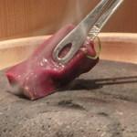 金舌 - 生レバ石焼