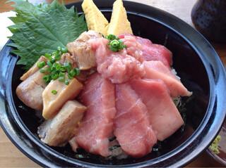 清水港 みなみ  - 特選本鮪丼¥1280