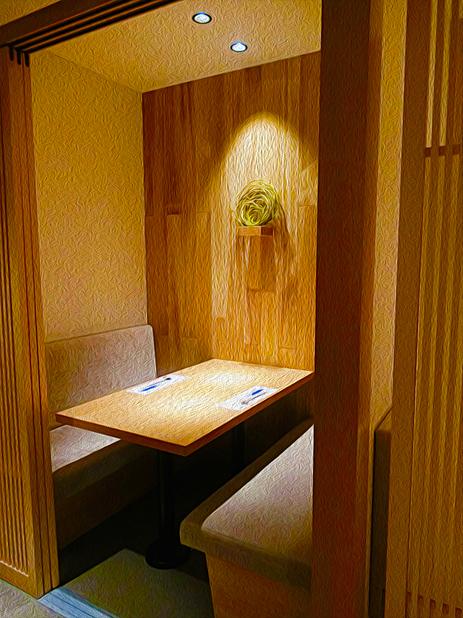 銀座 ふく太郎 - ●シュミレーション▶︎【4】ゆったりとした和風の個室が何部屋かあります。