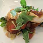 ビストロ ル・ボントン - 5月*鮮魚のポワレ バルサミコとケッパーとトマトのオリーブオイルソース