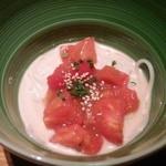イチイ - スーパーフルーツトマトの胡麻汁麺