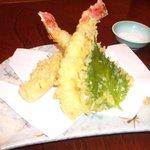 和食処 広瀬 - たらば蟹の天ぷら