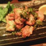 385797 - 鶏ハラス葱塩焼き