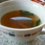 カフェ ジャルダン - 有機野菜のスープ