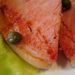 洋食 キムラヤ - ハムステーキ