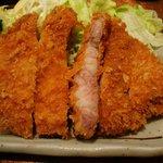 洋食 キムラヤ - ロースカツ