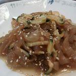 中国料理 シルクロード - クラゲ