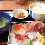 おがわ - 刺身定食(1,050円)
