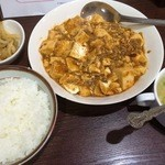 China's Kichtin 莉華 - ランチ(麻婆豆腐)550円
