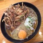浜そば - 天玉そば(450円)2015年5月