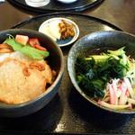 どんどん - Bランチ(豚しょうが+冷蕎麦)