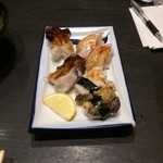 春駒 - 赤貝、ひらめ、つぶ貝