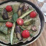 水の音あしたの種 - 夏野菜のガレット