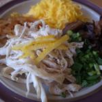 仙巌園 松風軒 - 鶏飯の具です