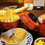 仲よし - アナゴ天ぷら定食