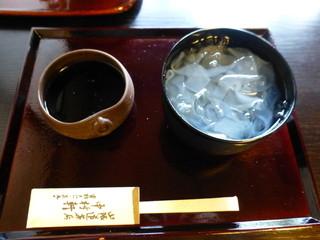 中村軒 - 2015年5月 真葛野(くずきり)890円