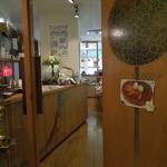 ディンブラ紅茶専門店 - ビル2階