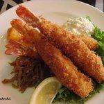 ネイリーズグリル - fried shrimp plate