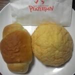38510093 - 塩バターパンと元気印のメロンパン