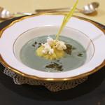 トゥ・ラ・ジョア - 蓬とトウモロコシの冷製スープ (2015/05)