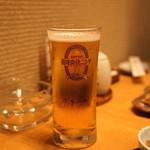空創旬菜 雷神 - プレミアム コールド(氷点下ー2℃)の生ビール (2015/05)