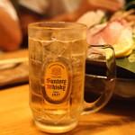 空創旬菜 雷神 - サントリー ウイスキーのハイボール (2015/05)