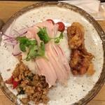 泰式鶏飯食堂 鳥ふじ - 鶏飯特のせ¥850