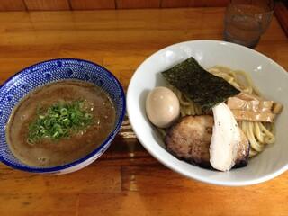 麺屋 むじゃき - 味玉つけめん(880円)