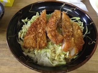 へべれ家 - 半ソースかつ丼(550円)