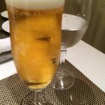 Risutorantehirooosaka - ビールで乾杯〜