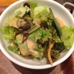 サイアムセラドン - ランチセットのサラダ