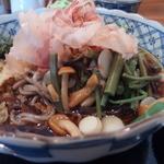 そば処けん太 - 山菜たっぷり
