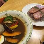 杜のカフェ シャナ - スープカレー