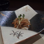 天ぷら 酒菜 醍醐 - ウドのきんぴら