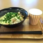 加藤牧場 Baffi - チーズ丼(しょうゆ&黒コショウ)