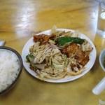 中国飯店 - 肉炒め+ライス(950円)
