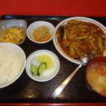 楓林 - 茄子の四川香り炒め定食