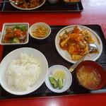 楓林 - 中国家庭風卵炒め定食