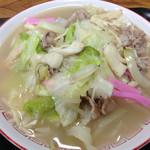 ときつ食堂 - 料理写真:チャンポン。庶民味!650円