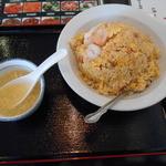 台湾料理 鴻翔 - 海老炒飯580円
