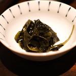 和食 イワカムツカリ - 早採り若布 (2015/05)