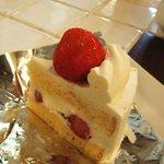 ガーデン&クラフツ カフェ - ショートケーキ