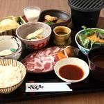 六九和 - ランチ 香福豚のあみ焼