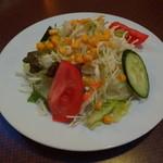 Indian Cuisine&Bar グランドダージリン  - ミックスサラダ(600円)