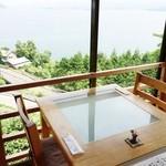 和食茶房 風の彩 - 景色もごちそうです。